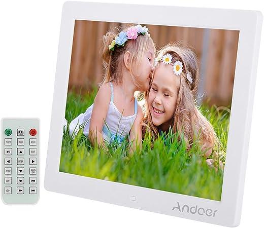 Andoer Digital Photo Frame 12 Bilderrahmen 800 600 Amazon De Elektronik
