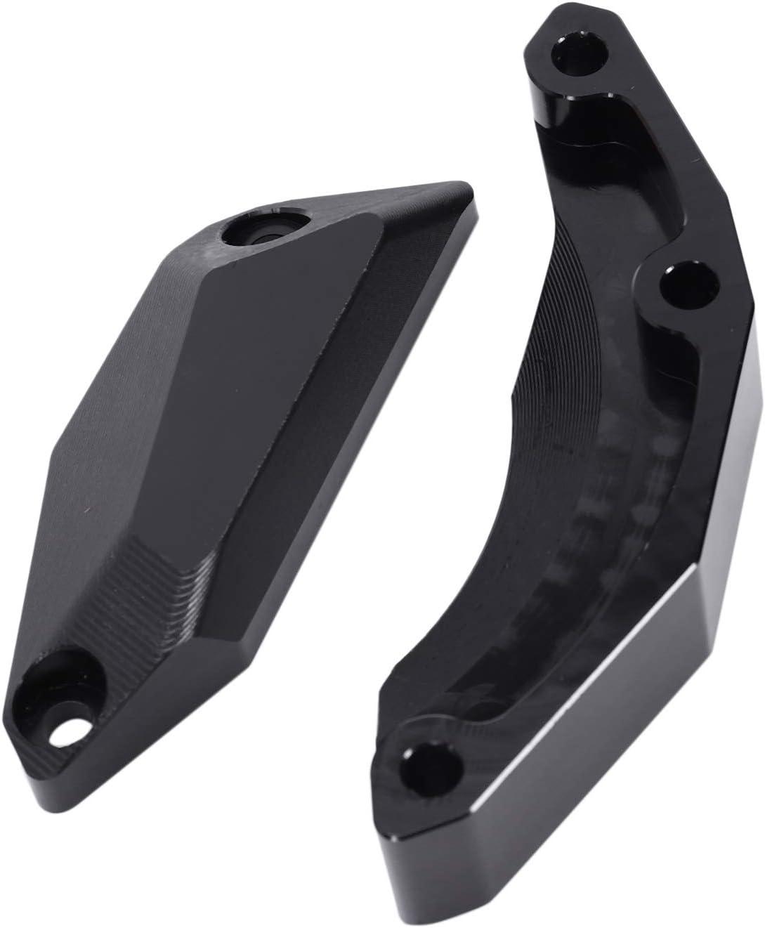 Basage Coperchi di Protezione Motore nel Alluminio Protector Protezione Motore Moto Slider Anti Crash Pad per R1S MT-10 MT10 16-17 Nero
