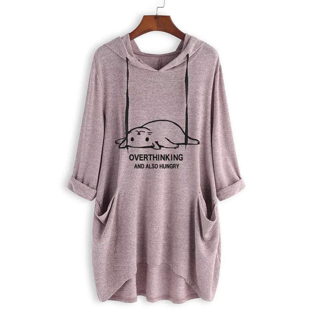 LEXUPE Women Tops Comfortable Cool T-Shirts Autumn Casual Fashion Blouses Long Sleeve Button Cowl Neck Tunic Sweatshirt Blouse