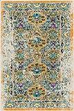 Well Woven LA-29-3 Laurent Sorrenti Vintage Antique Look Traditional x Doormat Accent Area Rug, 2'3'' x 3'11'', Orange