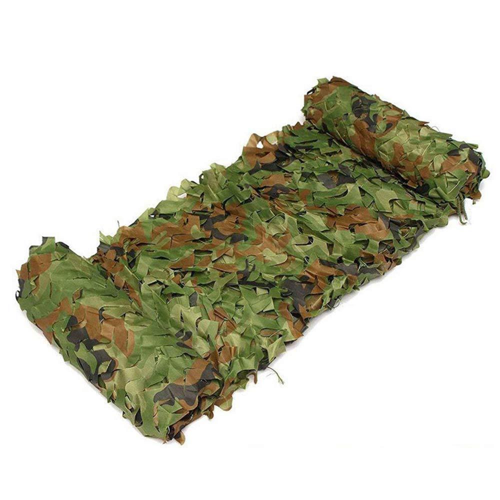 8x8m(26.226.2ft) GYiYi Filet D'Ombrage De Camouflage, Activité Militaire Couverture De Voiture Camping Jeu De Tir, ImperméAble Et RéSistant à La Corrosion 3m  3m
