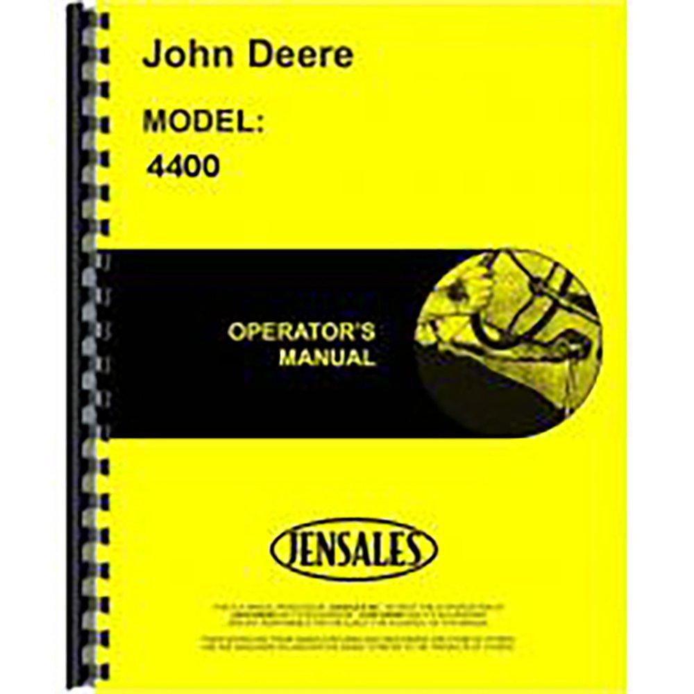 Amazon.com: JD-O-OMH86804 New Operators Manual For John Deere Combine 4400:  Industrial & Scientific