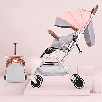 Yankuoo Sistema de viaje 2 en 1, cochecito de bebé, ultraligero ...