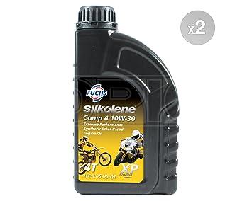 SILKOLENE Comp 4 10 W-30 XP Ester Base bicicleta Motor – Aceite semisintético 600886035