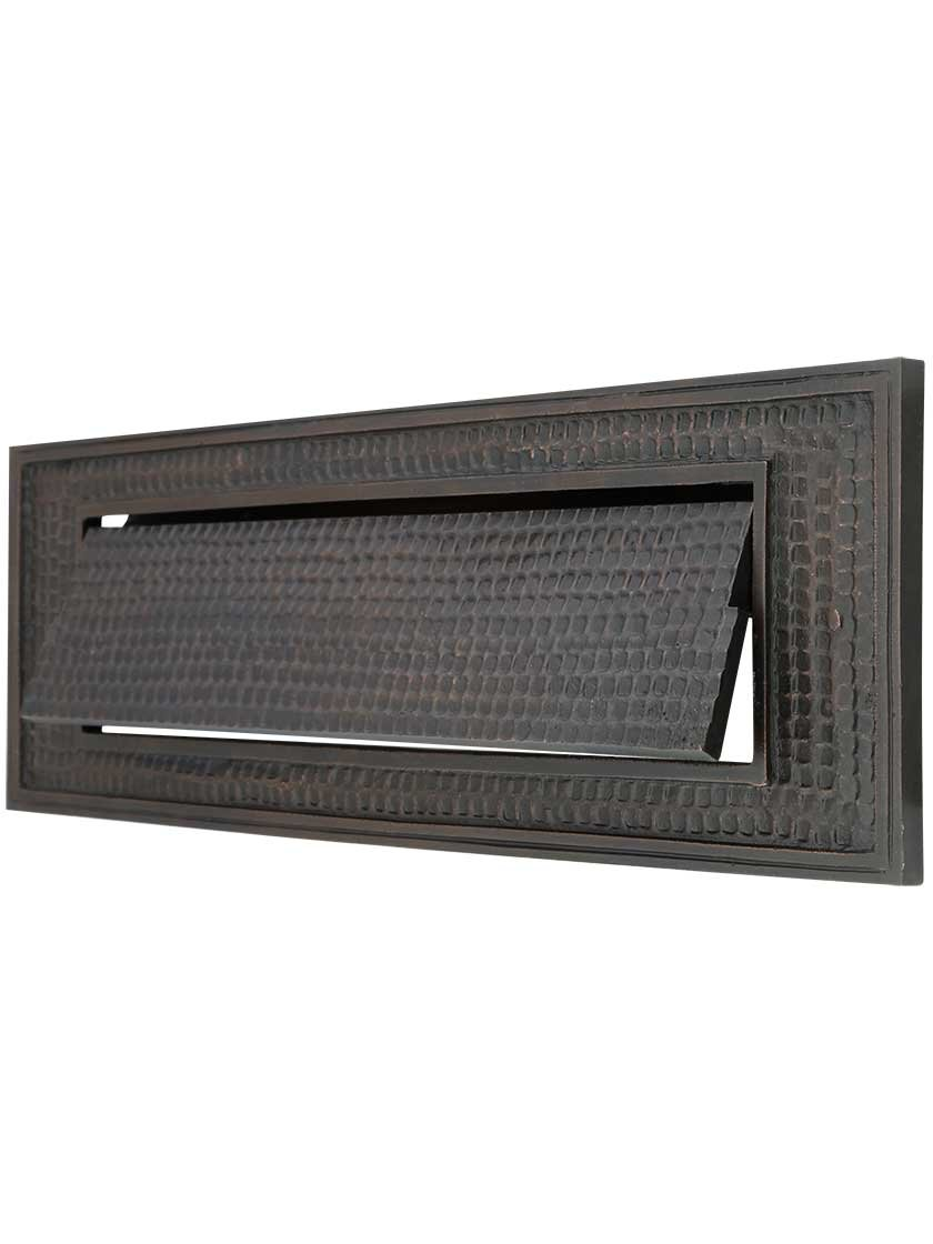 Standard Bungalow Mail Slot With Plain Front Plate