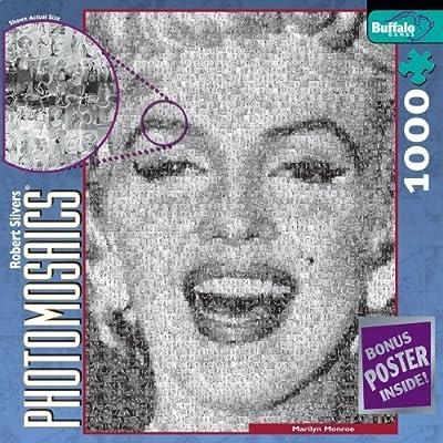 Buffalo Games Photomosaic Marilyn Monroe By Buffalo Games