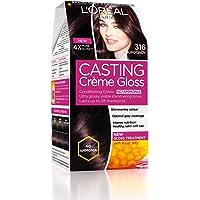 L'Oreal Paris Casting Creme Gloss Hair Color, Burgundy 316, 87.5g+72ml