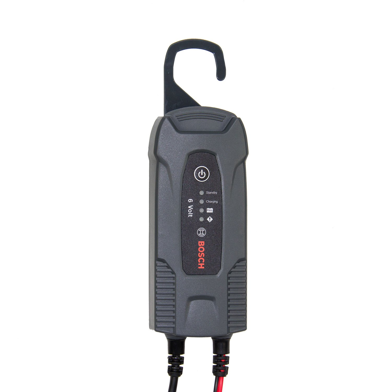 Bosch f026t02400 Microprocesador Cargador de batería, 6 V: Amazon ...