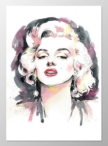 11x14 Marilyn Monroe Poster #A095. Marilyn Monroe Art Print. Marilyn Monroe  Wall Art