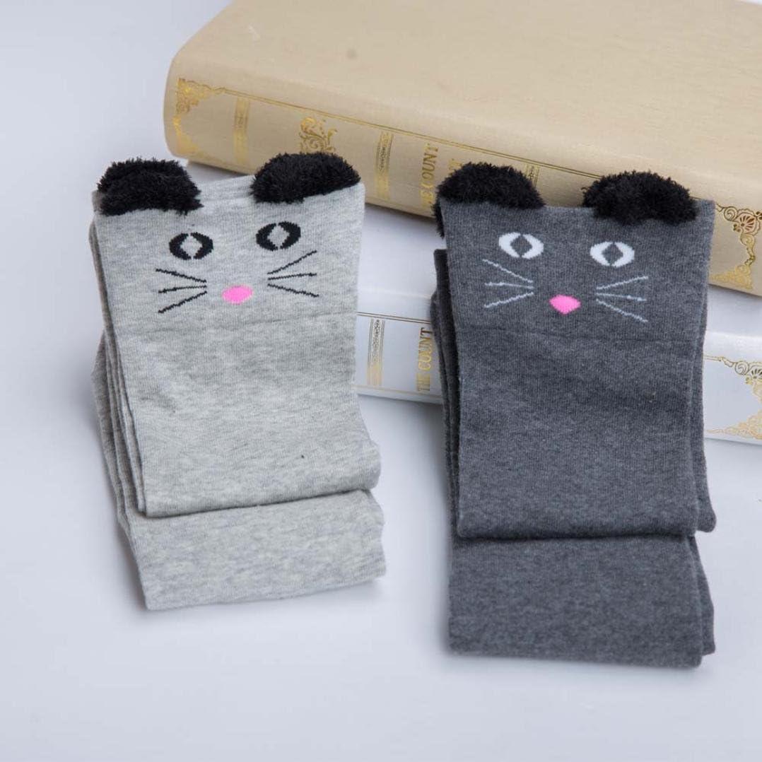 Wintialy Fashion Women Catoon Socks Long Socks Over Knee High Sock