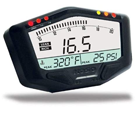 Koso BA029001 Boost Gauge With Wideband Air/Fuel Ratio