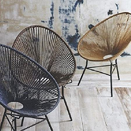 Genial Tutti Decor Indoor Outdoor Natural Classic Mexico String Chair, Designed By  Bahne.: Amazon.co.uk: Kitchen U0026 Home