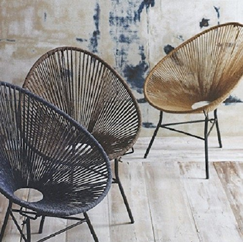Indoor Outdoor Natural Classic Mexico String Chair, Designed By Bahne.