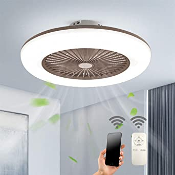 Ceiling Fan Lights With Remote Control Llluminated Ceiling Fan Dimmable Remote Control Fan Ceiling Fan Led Light Adjustable Wind Speed 40w Modern Led Ceiling Light Gold Ceiling Lighting Ceiling Fans With Lamps
