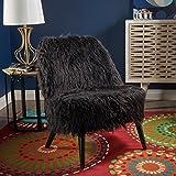 Soho Glam Faux Fur Chair – Shaggy Faux Fur Accent Chair – Faux Sheepskin Chair For Sale