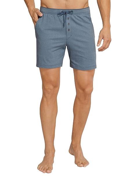 Schiesser Long Boxer Pantalones de Pijama para Hombre