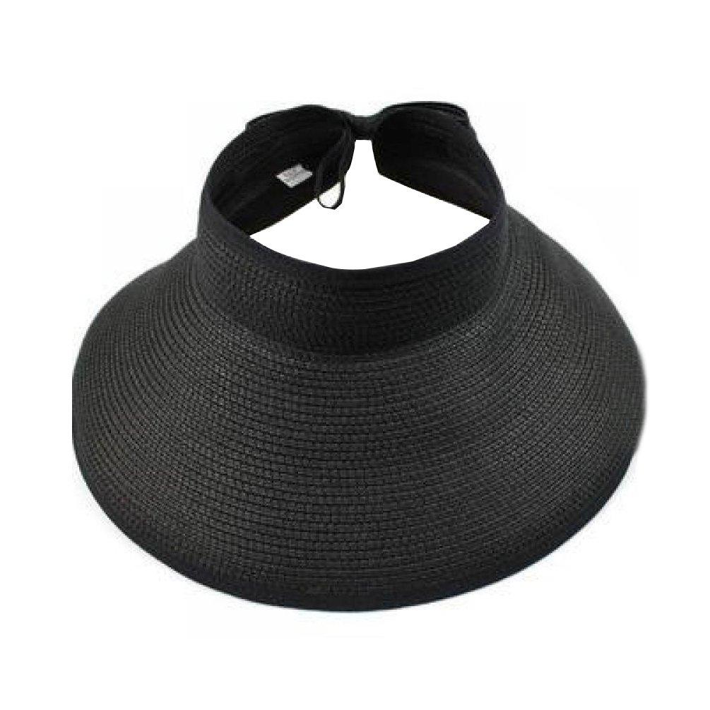 VBIGER Casquette à Visière Femme Chapeau de Soleil Respirant Chapeau  Pliable Idéal pour les vacances à 95fd092aa92