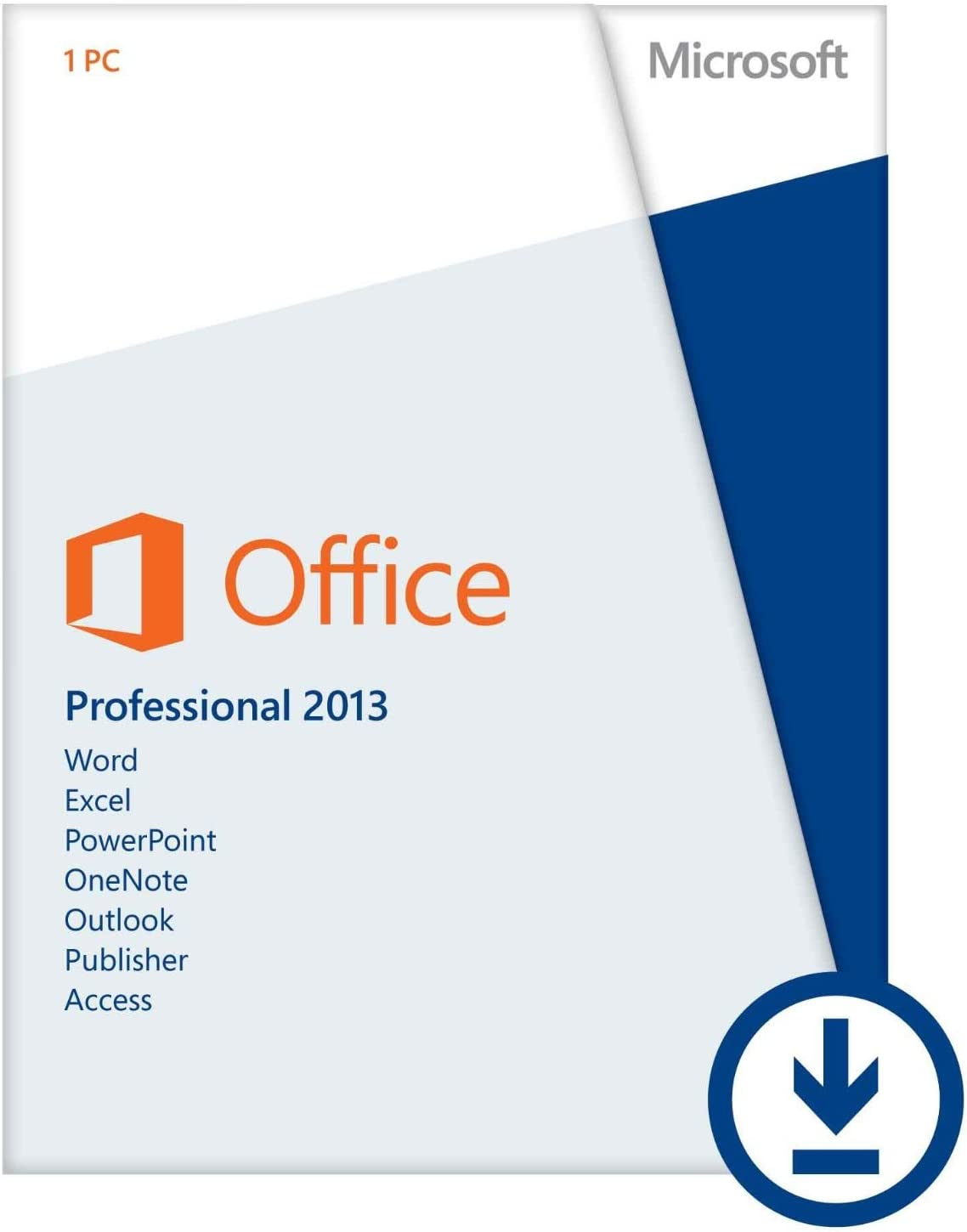 Microsoft Office Professional 2013 Key Card (1pc/1user) [Download]