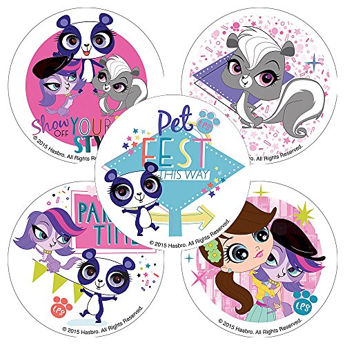Littlest Pet Shop: Party Time Stickers - Prizes 100 Per -