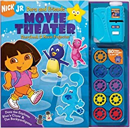Nick Jr. Dora & Friends Movie Theater Storybook & Movie Projector ...