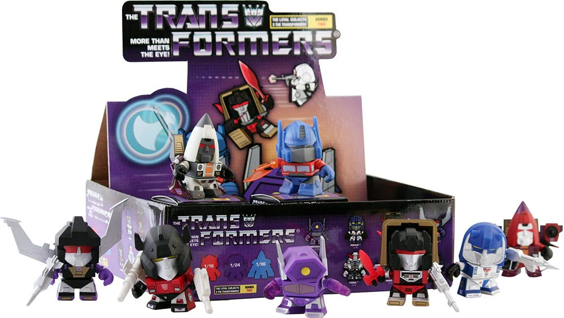 Brand NEW The Loyal Subjects Transformers Action Vinyl Decepticon SHOCKWAVE