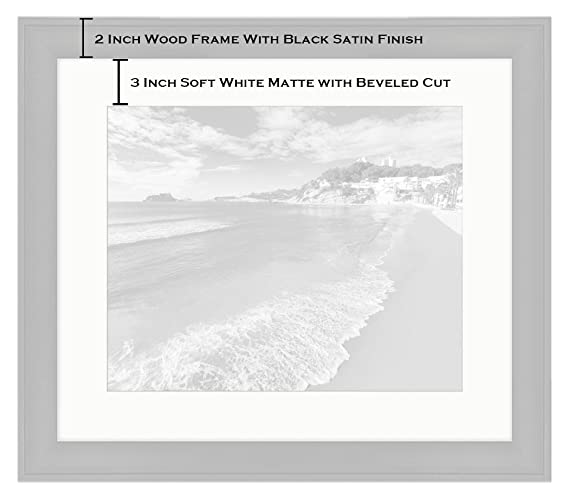 Amazon.com: Ashley Framed Prints Moraira Playa El Portet Beach Turquoise Water in Alicante, Wall Art Home Decoration, Black/White, 34x40 (Frame Size), ...