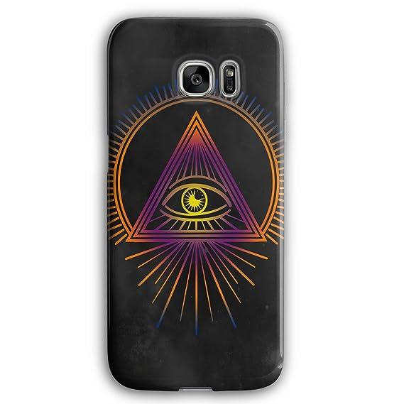Amazon com: Illuminati Fashion Triangle Art 3D Samsung
