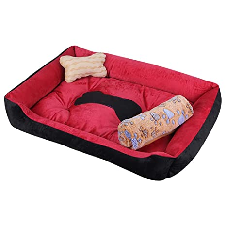 HSINCERELY Cama De Perro Cómodo Casa para Mascotas Lavable Gato Cama para Perros Perro De Perrito