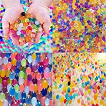 Water Beads Rainbow Mix (30,000 beads) for Orbeez Spa Refill, Sensory Toys and Décor(0.4'')