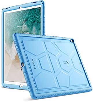Poetic TurtleSkin New iPad Pro 12.9 Rugged Case Cover With Heavy Duty  Protection Silicone and Sound d83feefaf