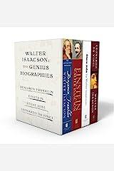 Walter Isaacson: The Genius Biographies: Benjamin Franklin, Einstein, Steve Jobs, and Leonardo da Vinci Paperback