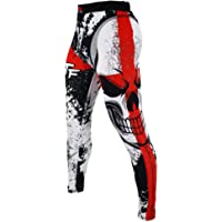 SUOTF MMA Boxing Sports Breathable Cross Skull Tight Pants Tiger Muay Thai Fist Pants Running Fights Kickboxing Shorts MMA