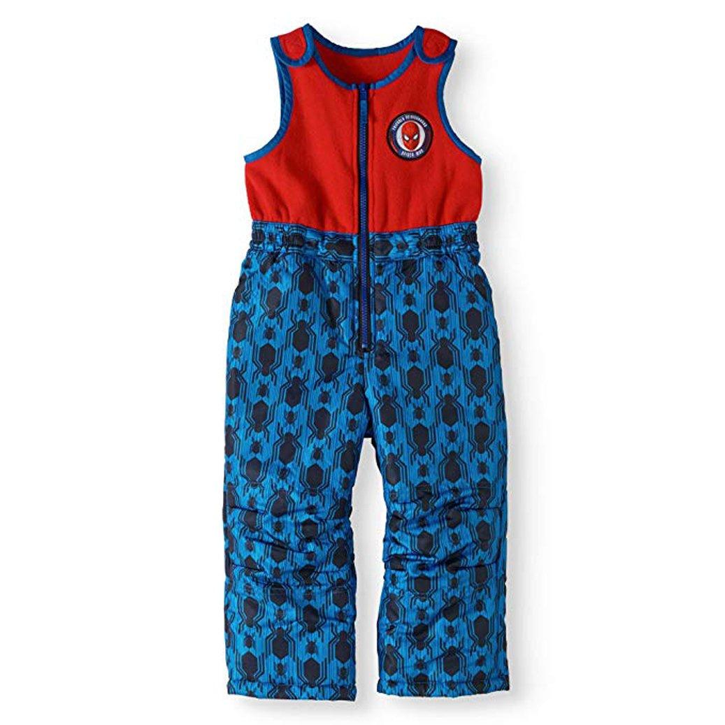 Marvel Boys Spiderman Superhero Snow Suit Bib Pant Outerwear