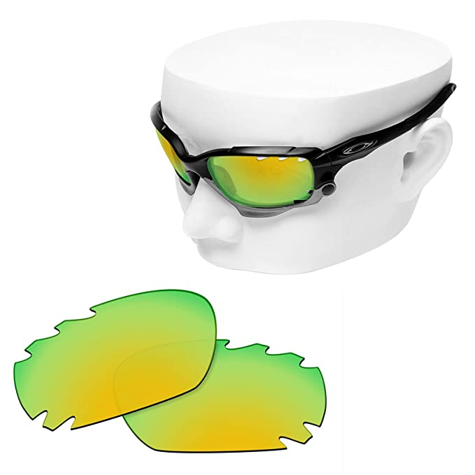 fd9a679713402 Image Unavailable. Image not available for. Color  OOWLIT Replacement Lenses  Compatible with Oakley Jawbone Vented Racing Jacket Vented Sunglass ...