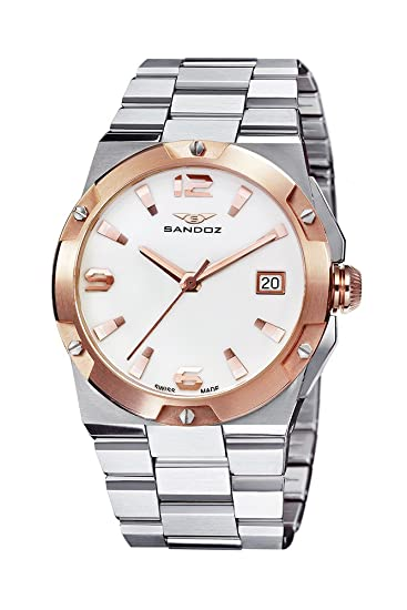 Reloj Sandoz Caractere 81266-60 Mujer Blanco