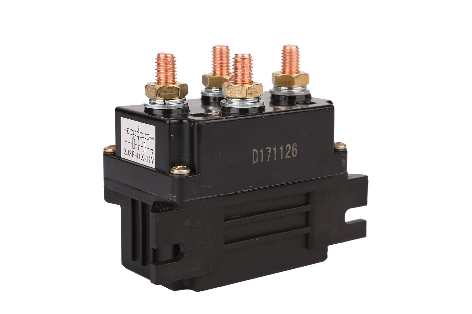 X-BULL Replacement Universal Winch Contactor Solenoid Relay Controller 500A DC Switch Boat ATV Winch Control