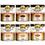 Augason Farms Meat Substitute Pack - #10 cans - 6 pk.