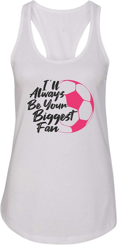 "Funny Threadz Women's Tank Top ""Ill Always Be Your Biggest Fan"" Ideal Tank Top"