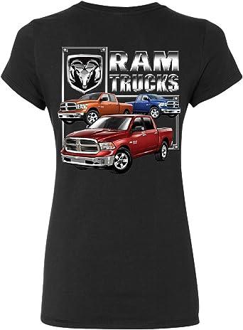 RAM Trucks HEMI T-Shirt Dodge RAM 1500 2500 3500 American Truck Tee Shirt