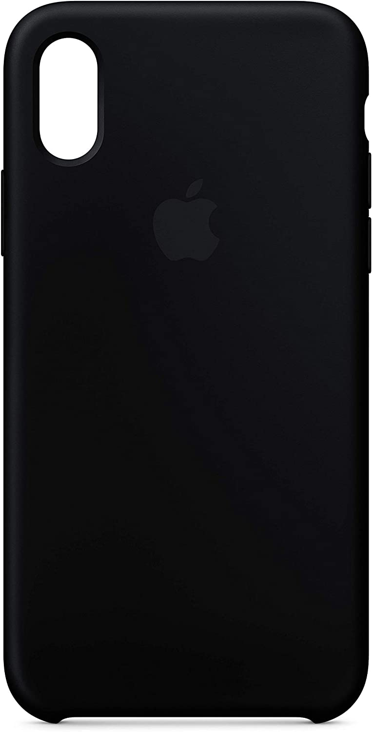 Apple Silicone Case (for iPhone X) - Black