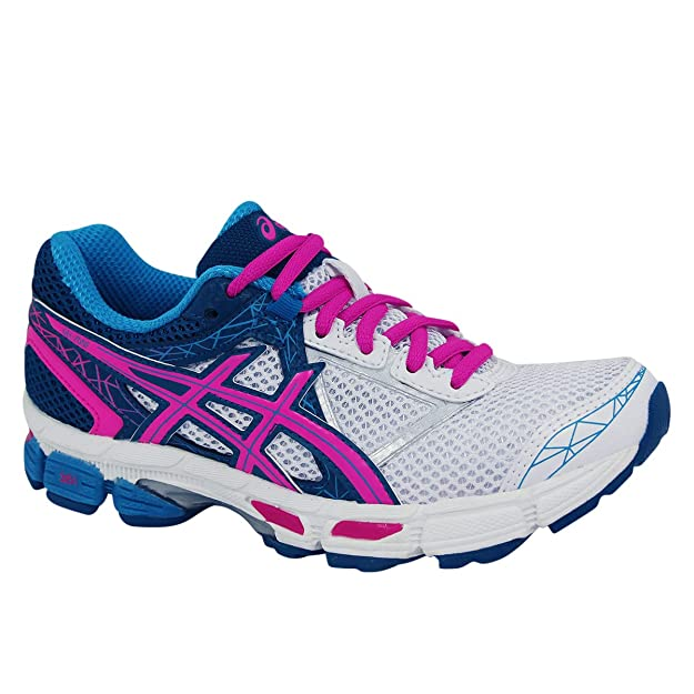 Asics Gel Zone 3 Ladies Running shoes for Women White Hot Pink 2015 YCSports