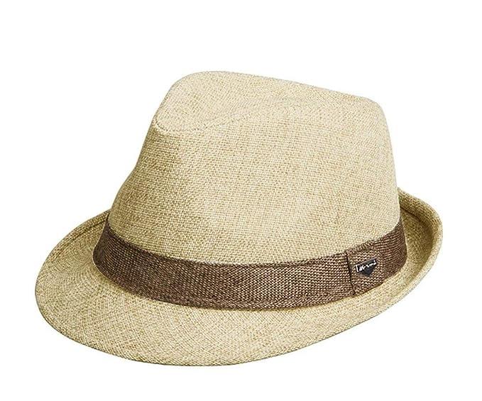 Cappello Estivo Cappello di Paglia Berretto da Uomo Unisex Classiche  Berretto D  Amazon.it  Abbigliamento 40d3e5c1a808