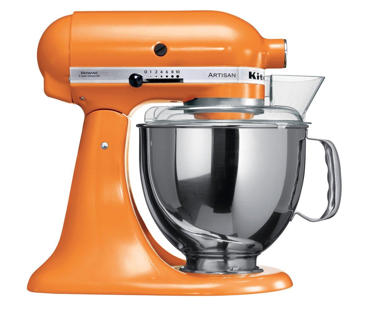 Buy Kitchenaid Artisan 5ksm150psdtg 300 Watt Tilt Head Stand Mixer Ariston An 15rs 350 Water Heather With Flat Beater Dough Hook Whisk Stainless Steel Bowl Pouring Shield Tangerine