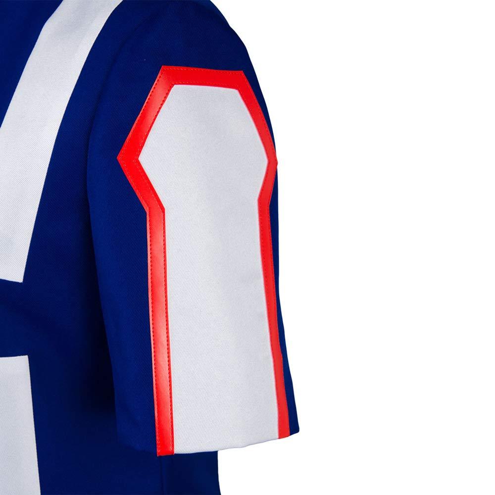Cosplay Boku no Hero Academia My Hero Academia Izuku Midoriya Costume Training Suit Uniform Blue
