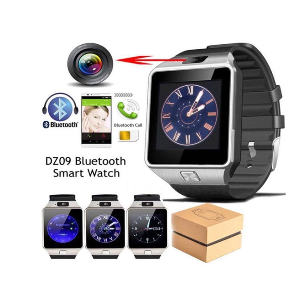 LayOPO DZ09 Smartwatch, Bluetooth Mutifuncional Reloj de Pulsera para Android & iOS Smartphone con Anti-pérdida, cámara, Ranura SIM: Amazon.es: Hogar