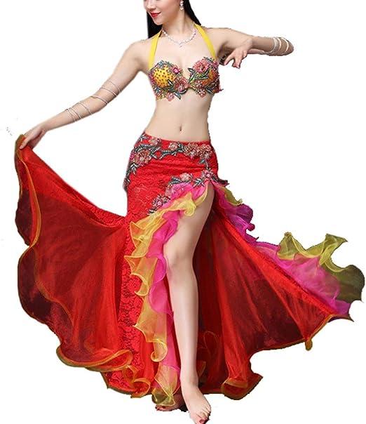 Bailar Trajes de Desgaste Disfraz de danza del vientre Vestidos ...
