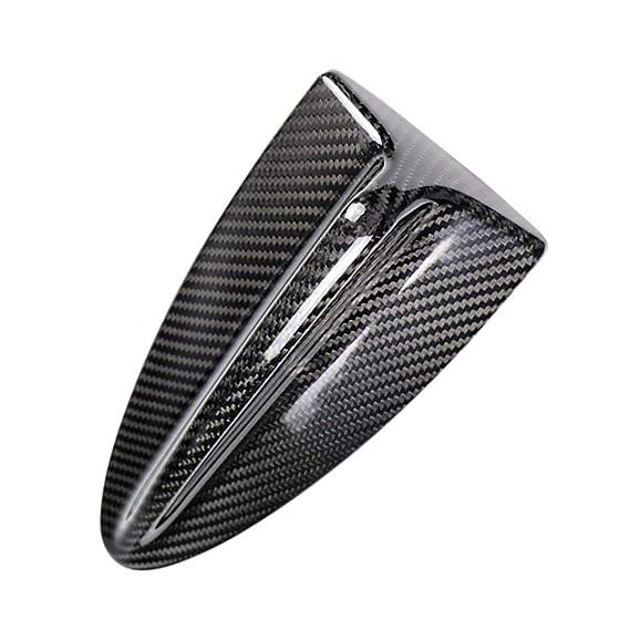 Lorsoul Auto-Antenne Adhensive Carbon-Faser-Schutz-Abdeckung Trim C Typ Ersatz f/ür BMW 3er E90 2007-2012