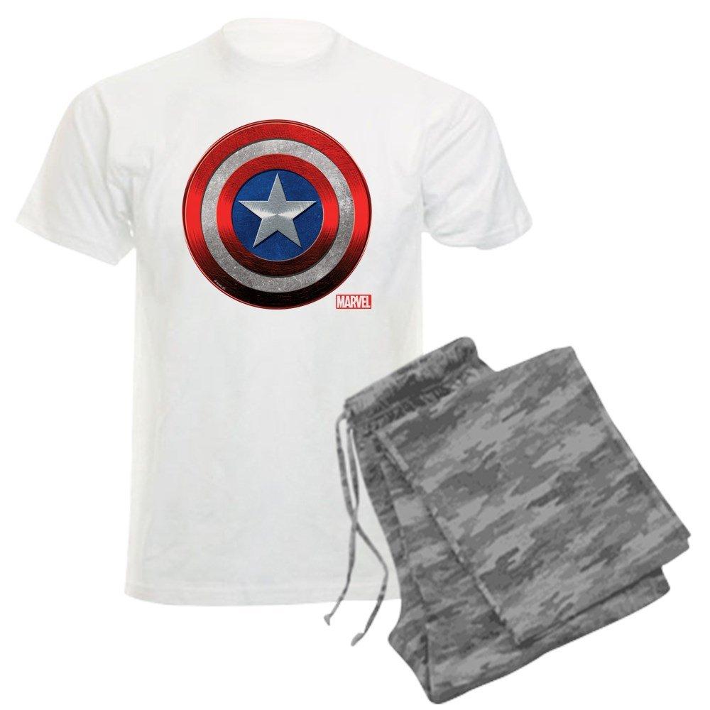 a550d7b74a ... CafePress - Captain America Grunge - Unisex Novelty Cotton Pajama Set