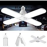 LED Garage-Light Deformable Warehouse Lighting - 60W Ceiling Light LED Foldable 4 Fan Blade Bulb Adjustable LED Light Bulb, S