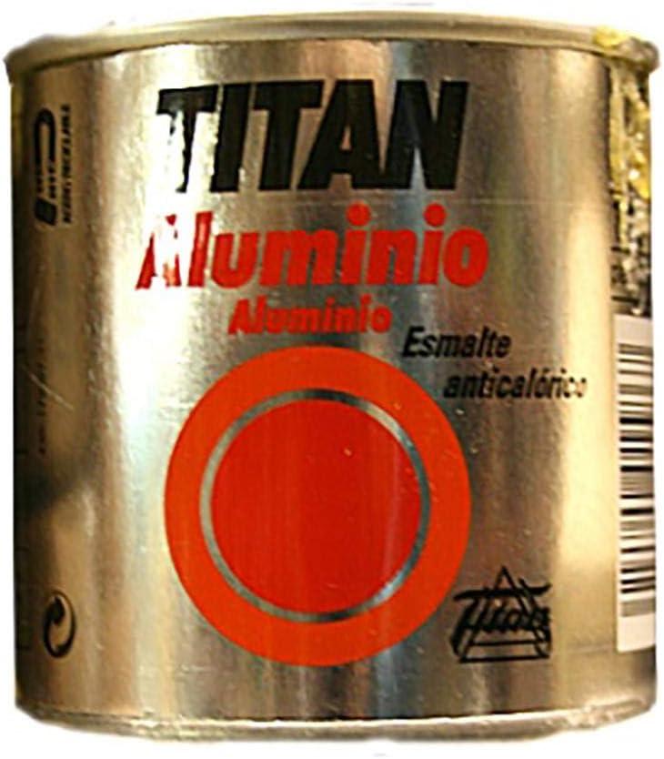 Titan M30718 - Esmalte aluminio anticalorico 125 ml